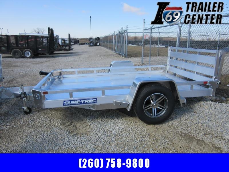 2021 Sure-Trac 7 X 10 Aluminum Low Side Utility  3K