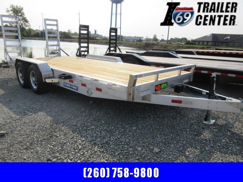 2021 Sure-Trac Aluminum Implement 18FT Equipment Trailer