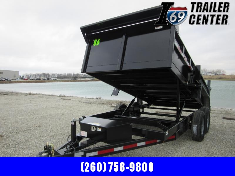 2021 Sport Trailers DT83214T 14 ft Dump Dump Trailer