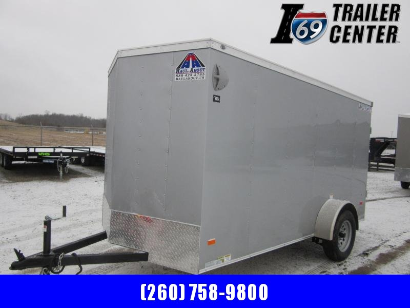 2021 Haul-About BCTSA Bobcat 6 x 12 Single Axle Enclosed Cargo Trailer