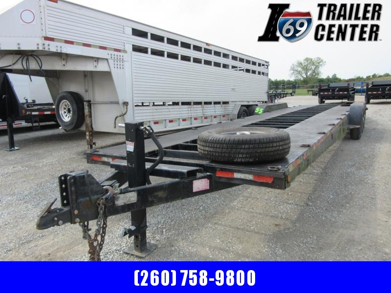 2000 Imperial 40 ft car hauler steel deck with open center Car / Racing Trailer