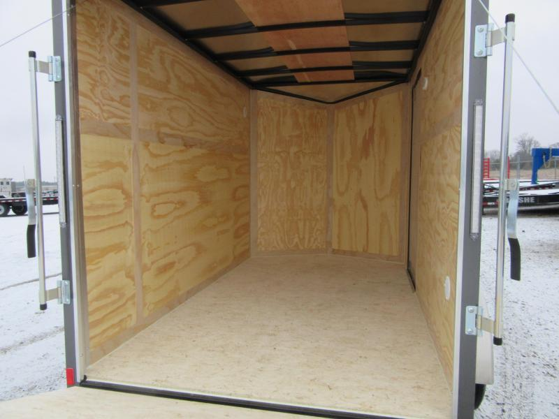 2021 Haul-About CGR610S 6 x 10 Single axle 3K Cougar model Enclosed Cargo Trailer