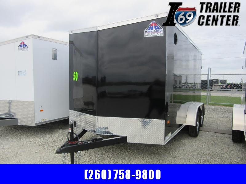 2021 Haul-About Cougar 7 x 14 Tandem Axles Enclosed Cargo Trailer