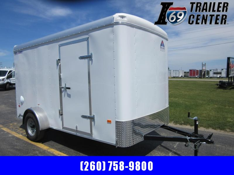 2020 Haul-About LYNX 6 x 12 single axle Enclosed Cargo Trailer