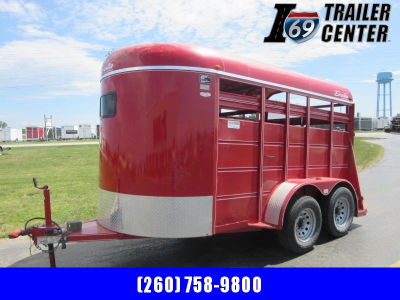 2010 Delta Manufacturing Livestock 6.6ft tall x6 ft wide Other Trailer