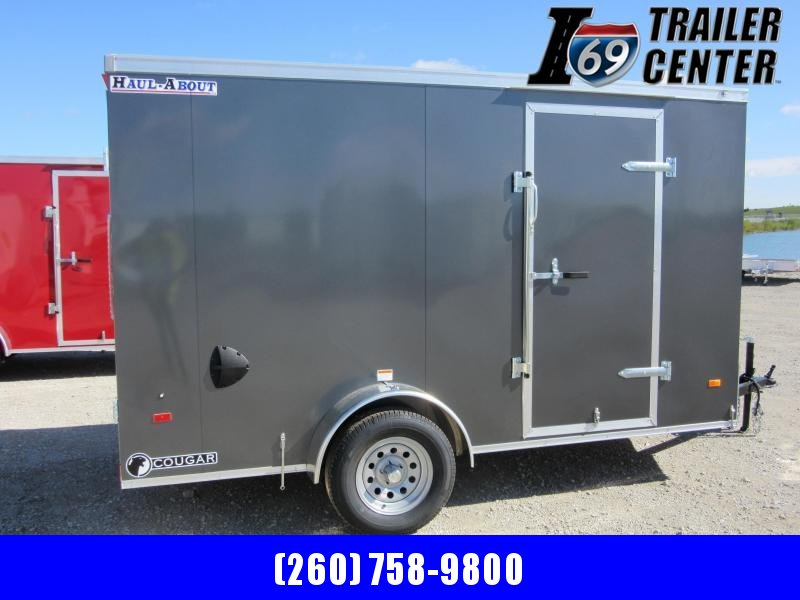 2021 Haul-About COUGAR 6 X 12 SINGLE AXLE Enclosed Cargo Trailer