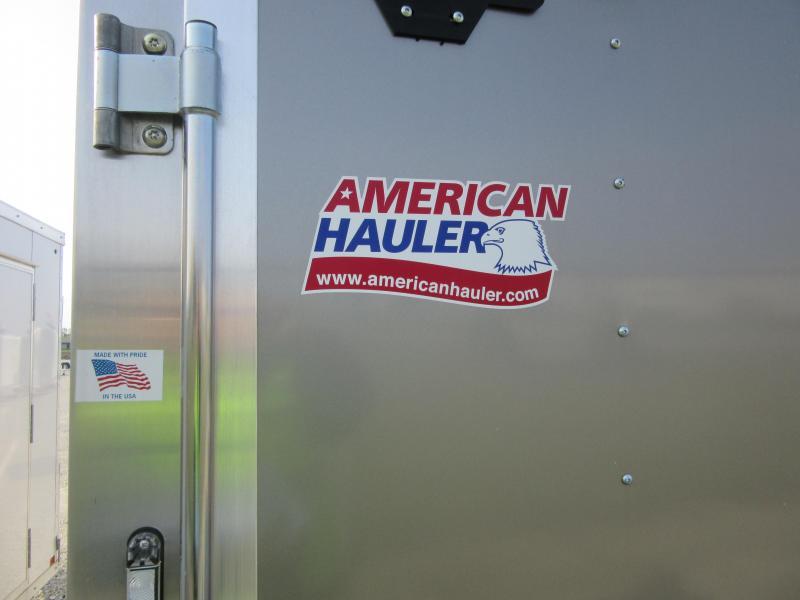 2019 American Hauler ALC612SA ROUND TOP STYLE Enclosed Cargo Trailer