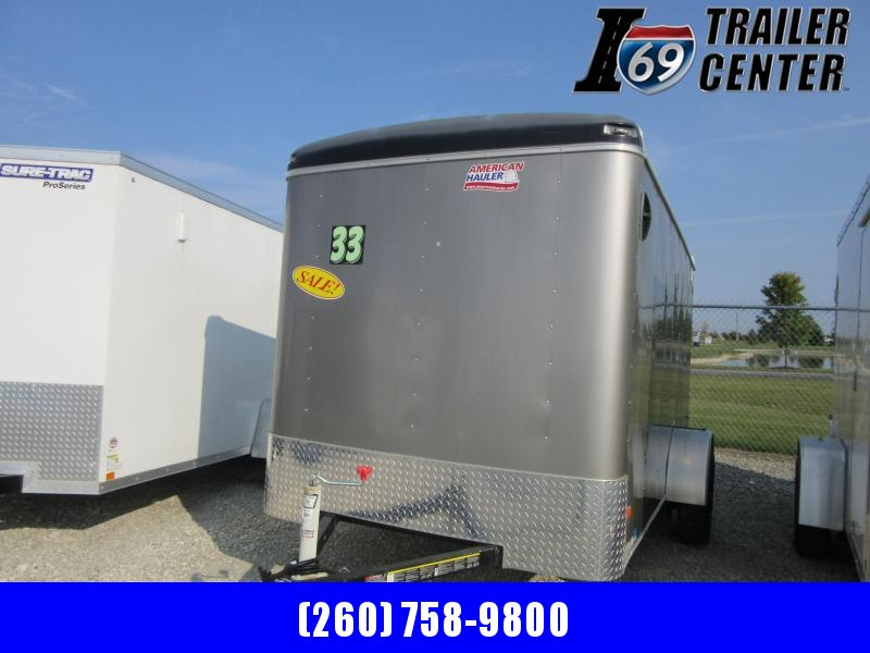 2019 American Hauler ALC612SA ROUND TOP STYLE Enclosed Cargo Trailer