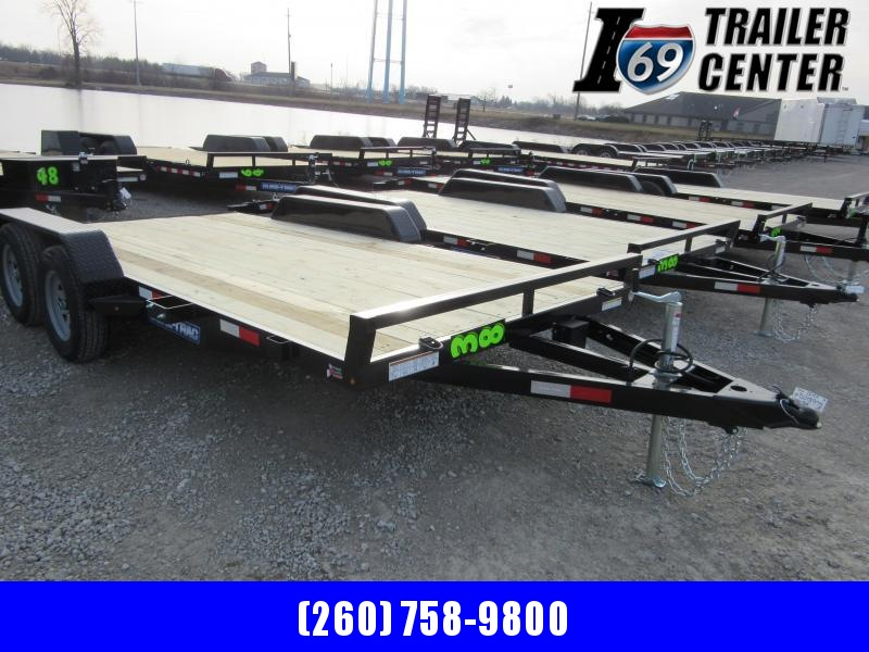 2021 Sure-Trac 7 x 16 (14+2) C-Channel Car Hauler Trail