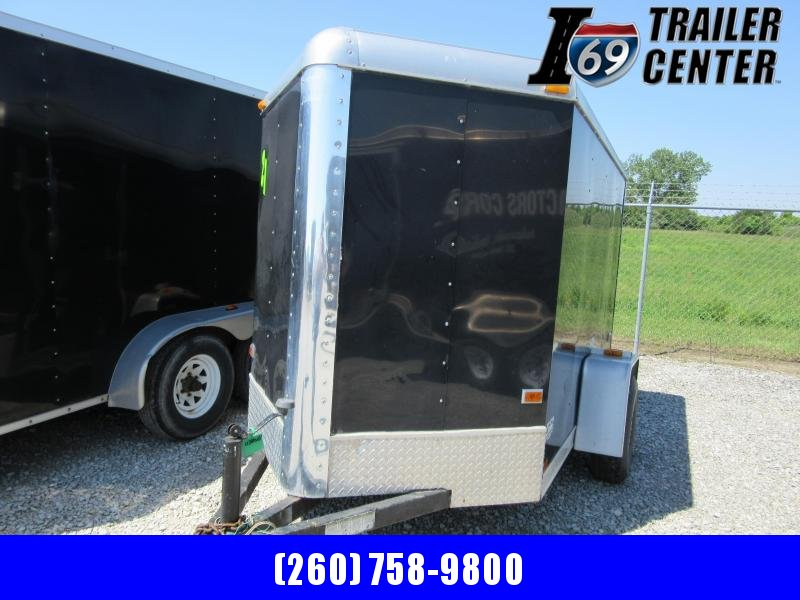 2003 Classic Manufacturing 5 x 8 enclosed side door & rear ramp Enclosed Cargo Trailer
