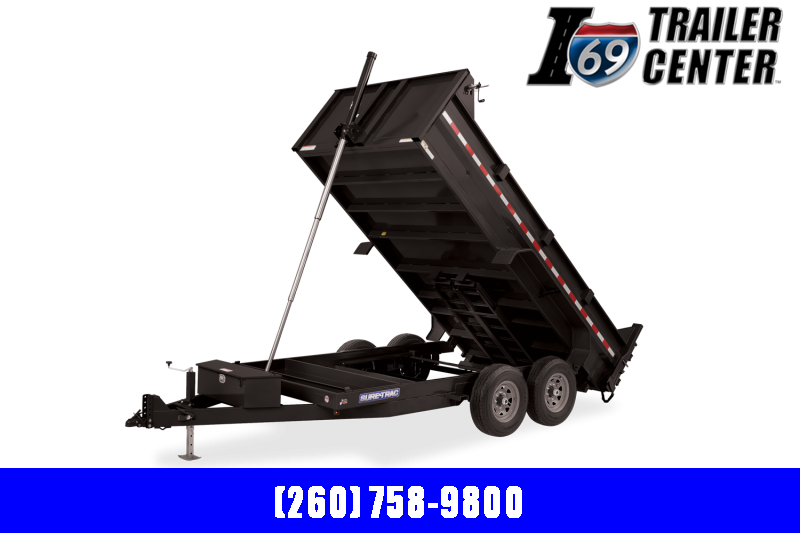 2022 Sure-Trac ST8214TLDD-B-140 Dump Trailer