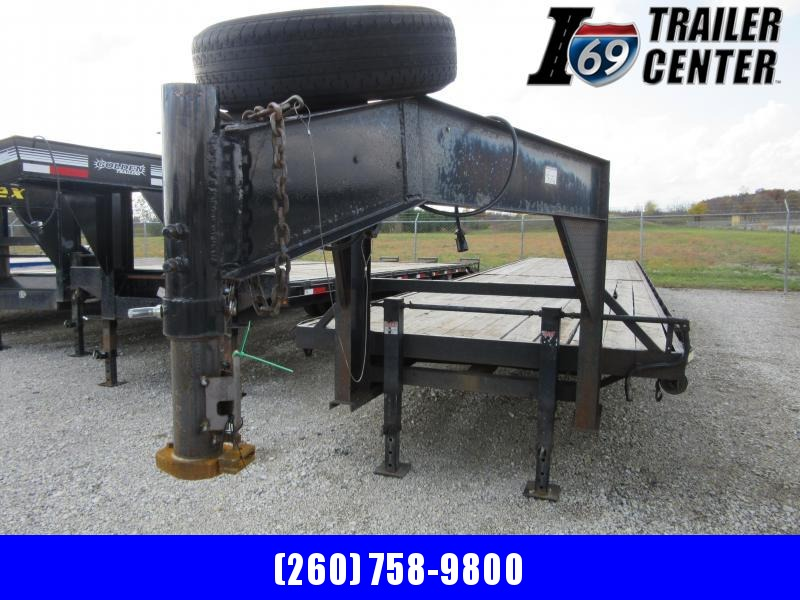 2015 Other Baggetts 14K 38+2 GN deckover Equipment Trailer