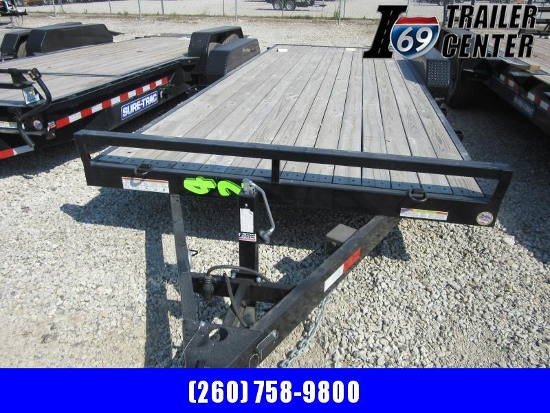 2020 Sure-Trac 7 x 20 wood deck car hauler 10K Car / Racing Trailer