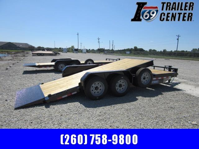 2021 Sure-Trac 7 x 18+4 Tilt Bed Equipment Trailer  16K