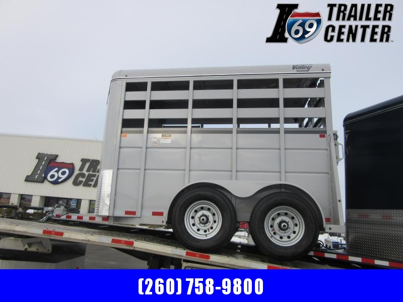"2021 Silver Valley Trailers 12' x 6'8"" x 7' Stock (26812) Livestock Trailer"