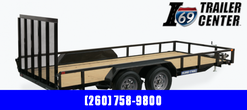 2022 Sure-Trac ST8218TAT-B-070 Utility Trailer
