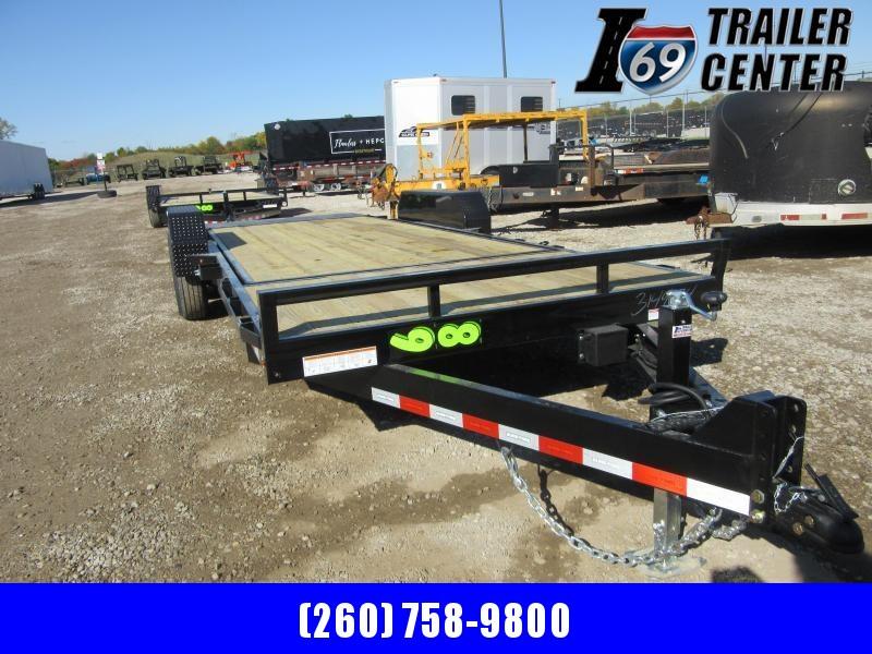 2021 Sure Trac 7 x 18 4 Tilt Bed Equipment Trailer 14K