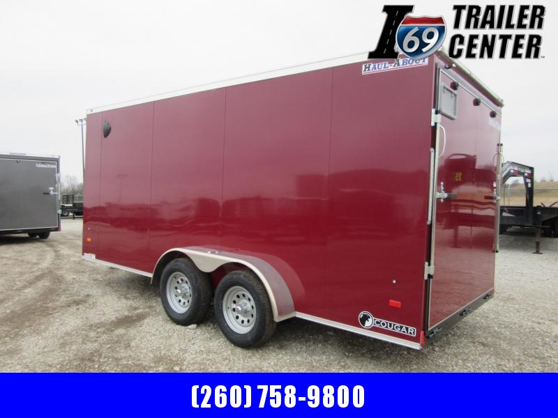 2021 Haul-About CGR716TA2 Cougar 7 x 16 7K Enclosed Cargo Trailer