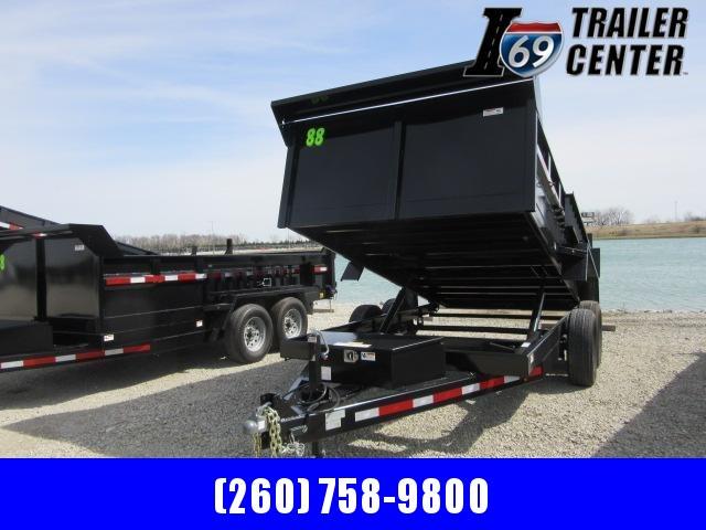 2021 Sport Trailers DT83214T 14 ft Dump Dump Trailer