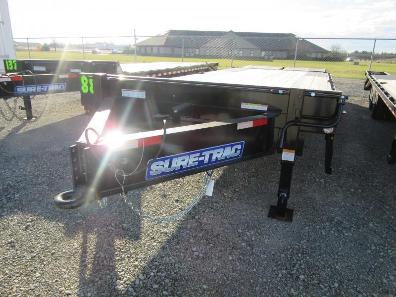 2021 Sure-Trac 8.5 x 20+5 Heavy Duty Low Profile Beaver