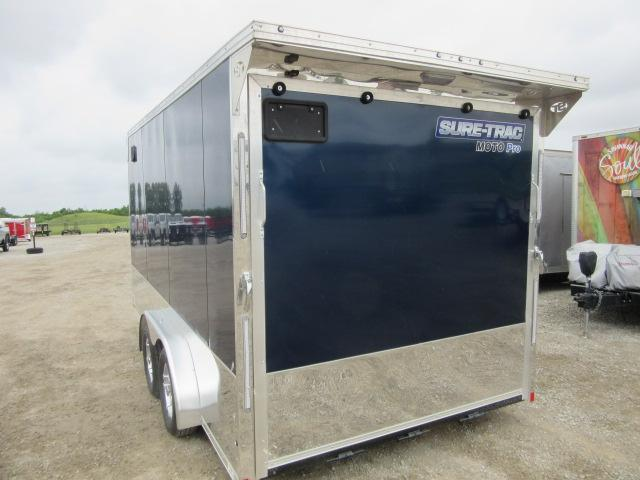 2021 Sure-Trac STBNMP9014TA Motorcycle Trailer