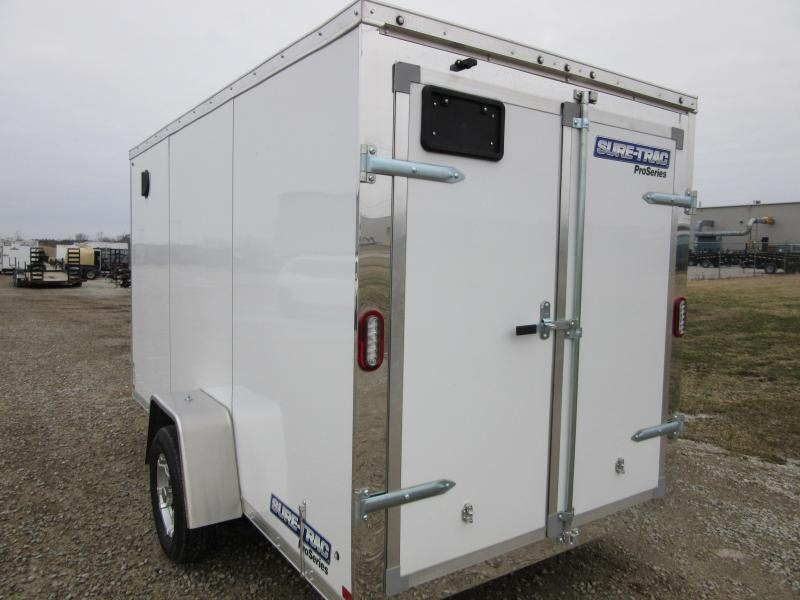 2021 Sure-Trac 6 x 10 Double Rear Doors Pro Series Enclosed Wedge Cargo T