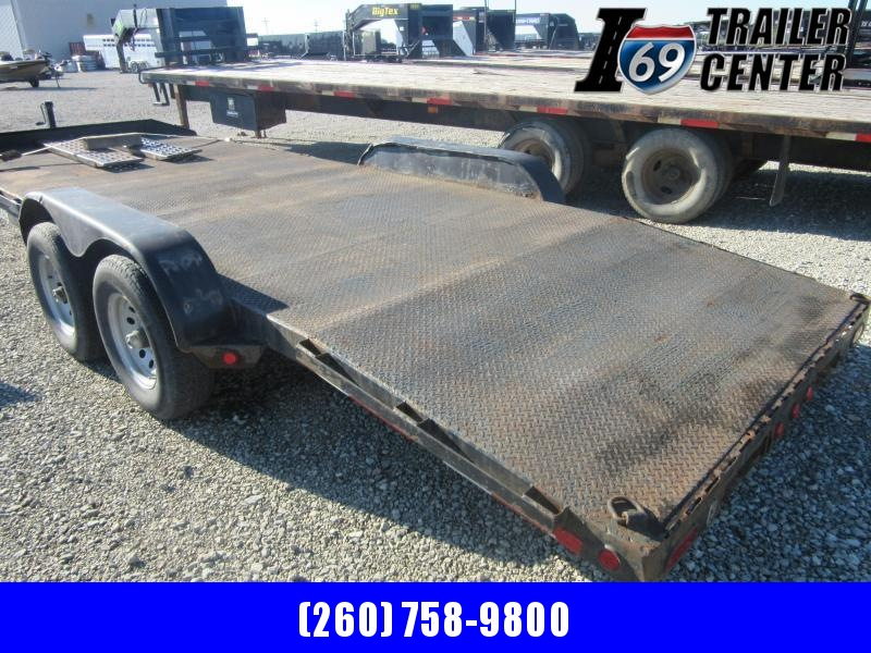 2006 Sure-Trac 2006 10K 20FT steel deck Car / Racing Trailer