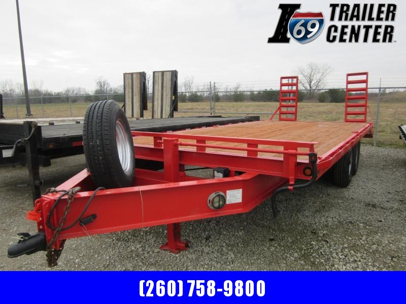 2007 Sure-Trac Deckover 8.5 x 20 14K Equipment Trailer