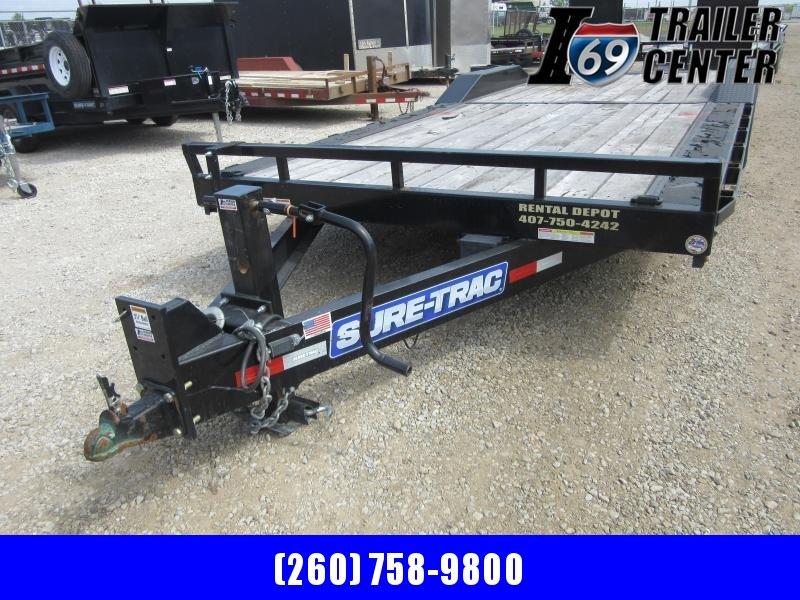 2020 Sure-Trac 8.5 x 22 16K drive over fender equipment Equipment Trailer