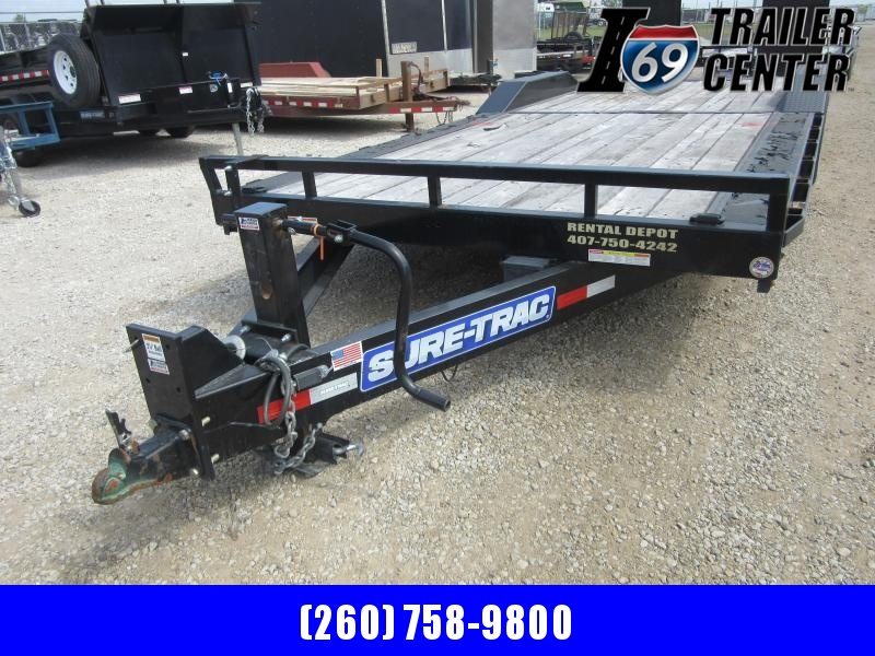 2020 Sure-Trac 8.5 x 22 16K drive over fender equipment Equipment Trailer