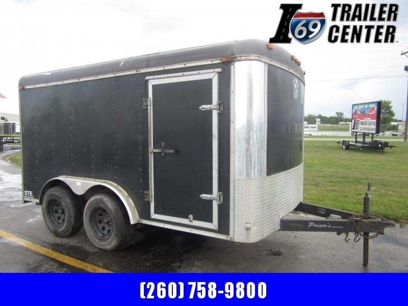 1999 Cargo Express 7 x 12 tandem axle 10K Enclosed Enclosed Cargo Trailer