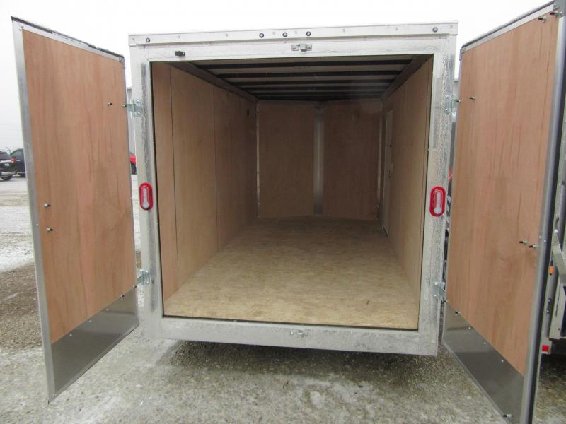 2021 Sure-Trac 7 x 14 Pro Series Enclosed Wedge Cargo DOUBLE REAR DOORS