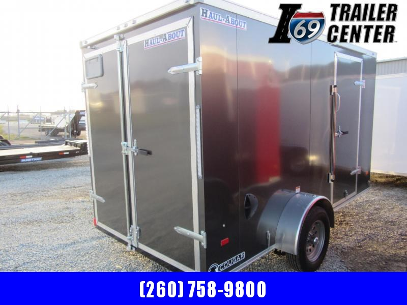 2021 Haul-About Cougar CGR612SA Enclosed Cargo Trailer