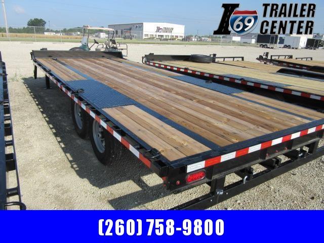 2021 Sure-Trac Heavy Duty Low Profile Flat Deck Equipment Trailer
