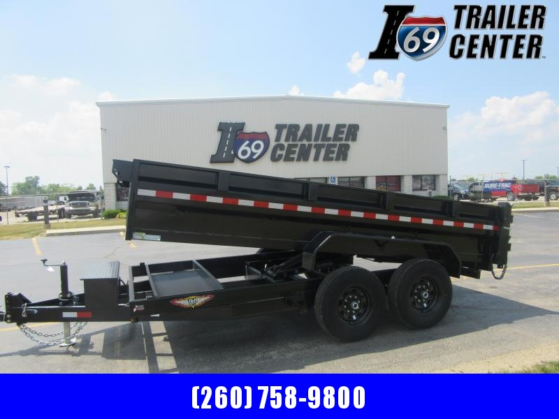 2021 H and H Trailer ST8214HLOD-B-140 Dump Trailer