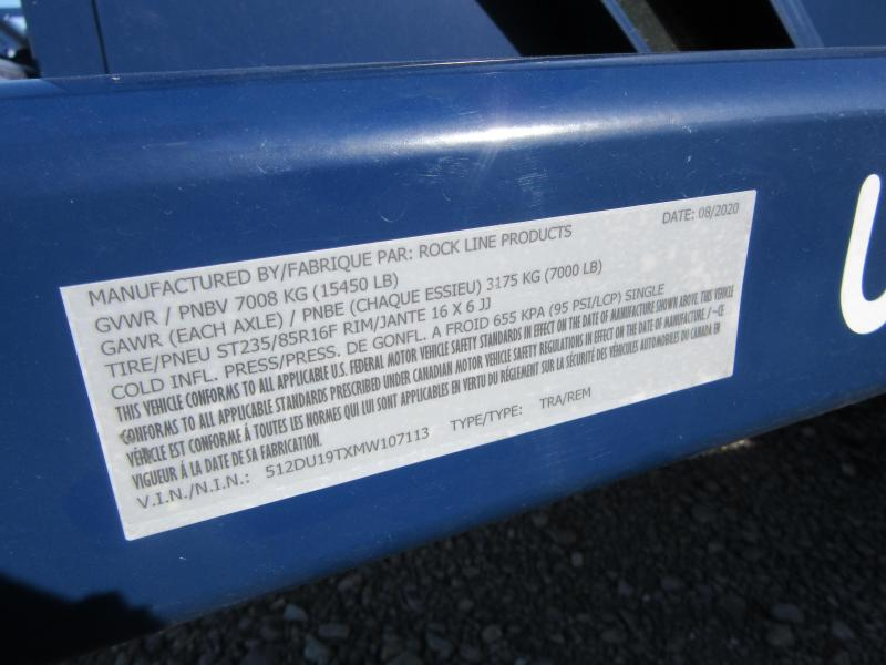 2021 Air Tow UT14-12 Tandem Axle Utility Utility Trailer