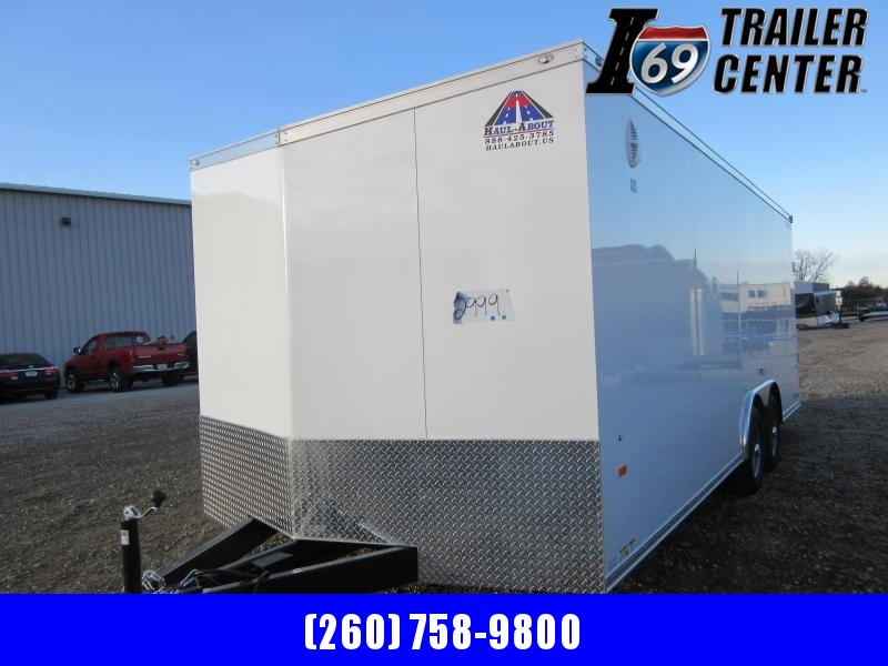 2021 Haul-About CGR8520TA3 Enclosed Car Hauler Car / Racing Trailer