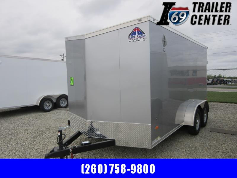 2021 Haul-About COUGAR 7 X 14 TANDEM AXLE Enclosed Cargo Trailer