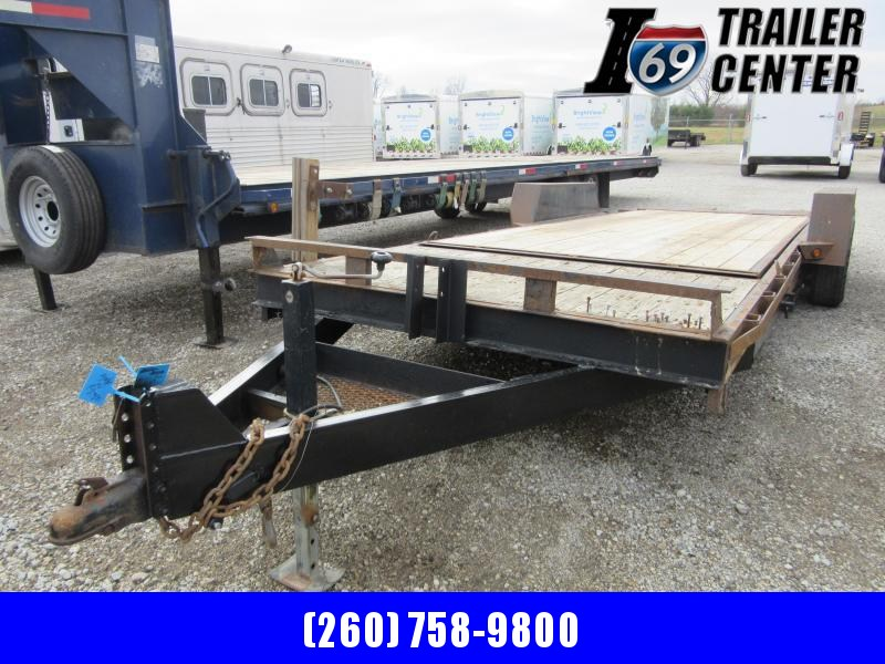 2007 Sure-Trac 7 x 18+4 10K tilt equipment Equipment Trailer