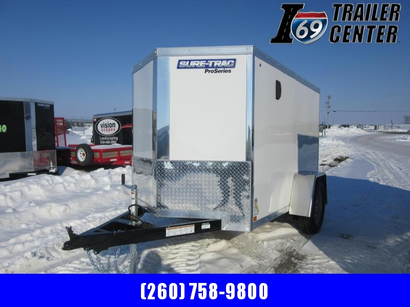 2021 Sure-Trac 5 x 8 Pro Series Enclosed Wedge Cargo Tr