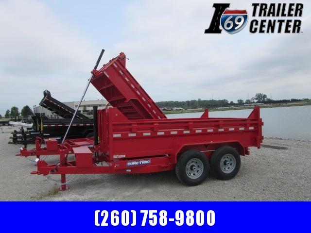 2021 Sure-Trac ST8212TLDD-B-140 Dump Trailer