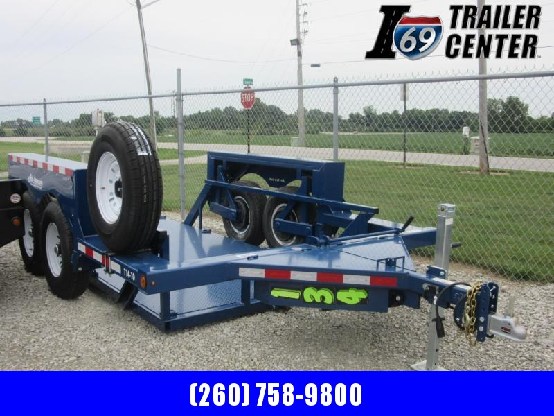 2019 Air Tow Air-TOW T14-10 14ft Equipment Trailer 10k payload
