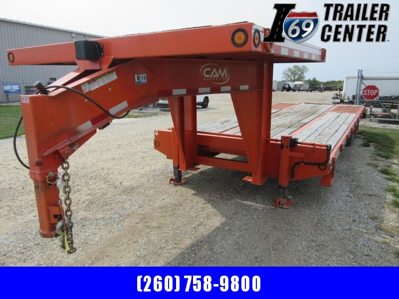 2019 Cam Superline GN 27ft with 8x8 upper deck Equipment Trailer