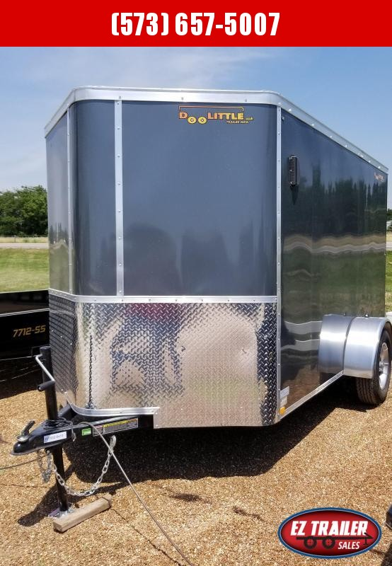 2021 DooLitttle Trailers 6x10 Enclosed Cargo Trailer