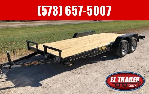 2021 DooLitttle Trailers 84x18 Equipment Trailer