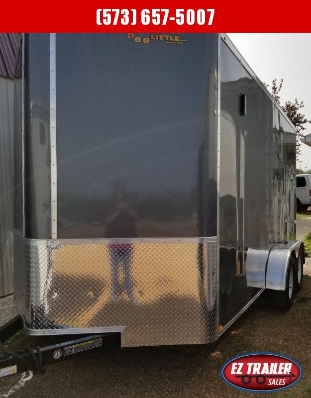 2021 DooLitttle Trailers 7x14 Enclosed Cargo Trailer