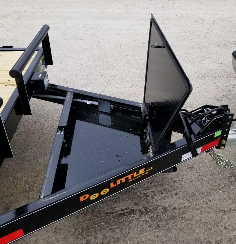 2021 DooLitttle Trailers 82x22 Equipment Trailer