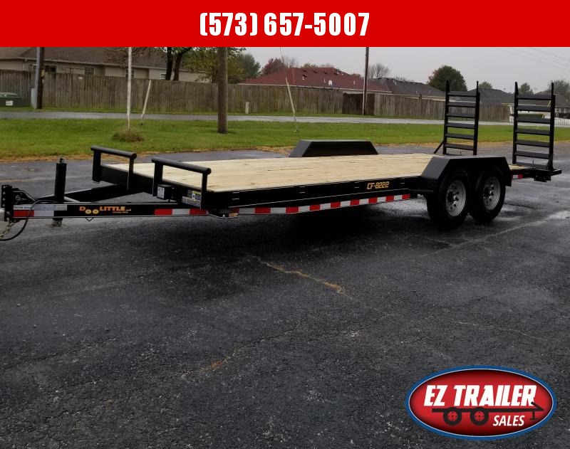 2021 DooLitttle Trailers 82x22 Equipment Trailer