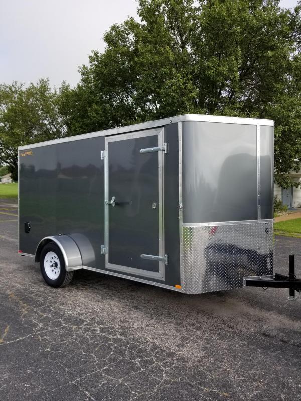 2021 DooLitttle Trailers 6x12 Enclosed Cargo Trailer