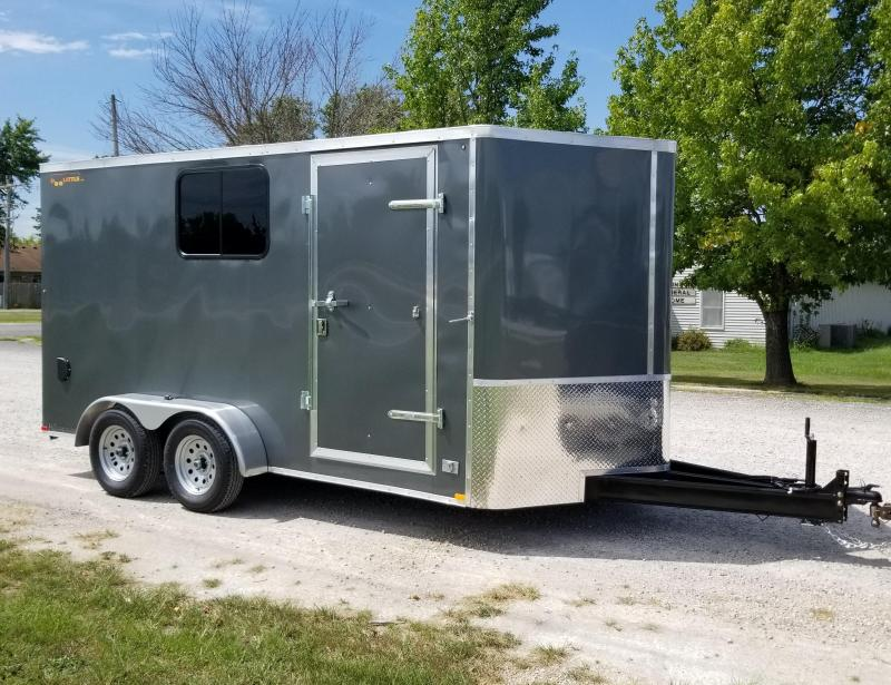 2022 DooLitttle Trailers 7x14 Enclosed Cargo Trailer
